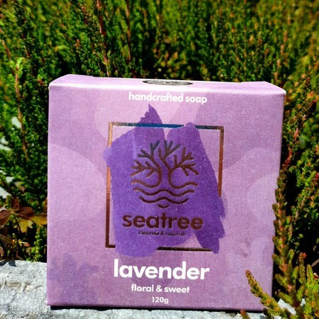 Palm Oil free lavender soap