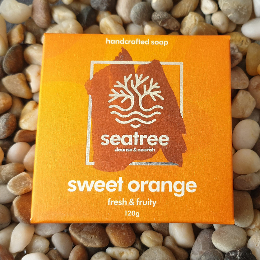 natural sweet orange soap uk