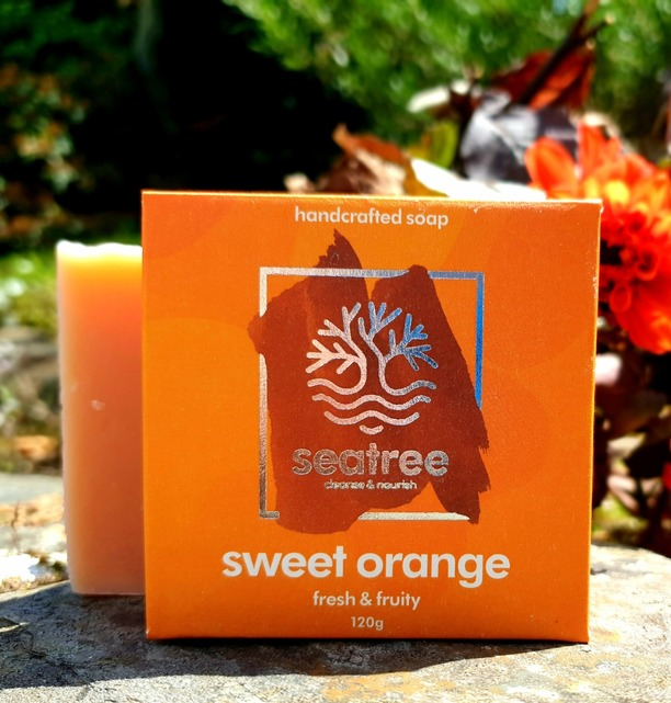 Natural sweet orange soap
