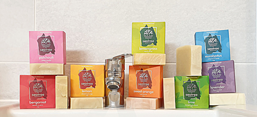 Palm Oil Free Soap collection by seatree cosmetics
