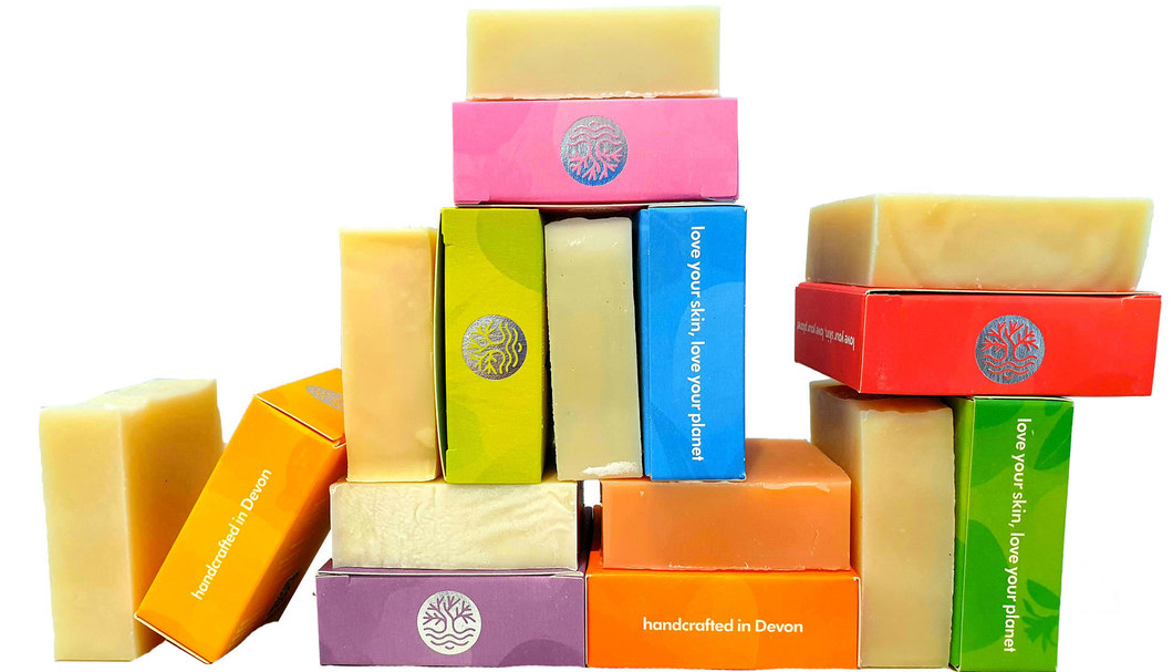 100% natural soaps collection by seatree cosmetics